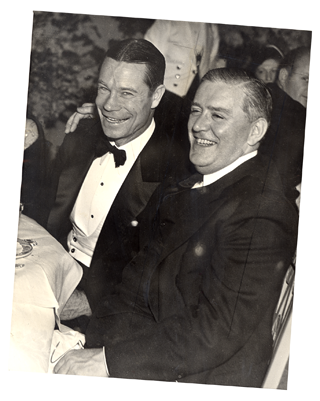 Joe E. Brown and Joseph Breen