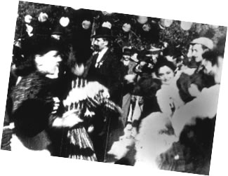Lumiere film frame, Parisian dance