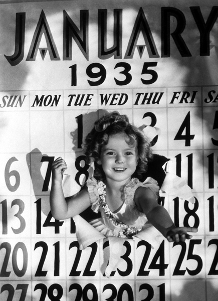 Shirley Temple January 1935