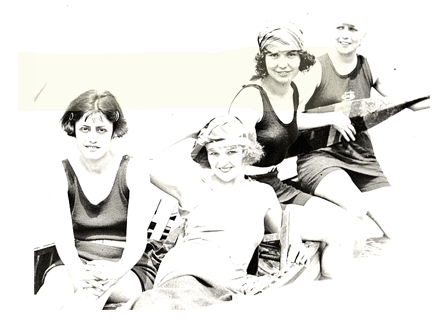 1920's bathing beauties, Kay Laurell