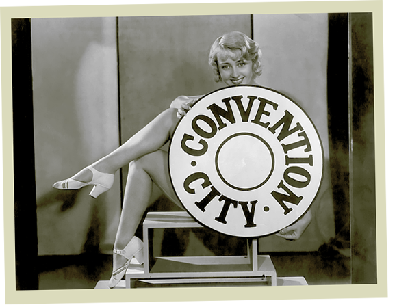 Joan Blondell in Convention City