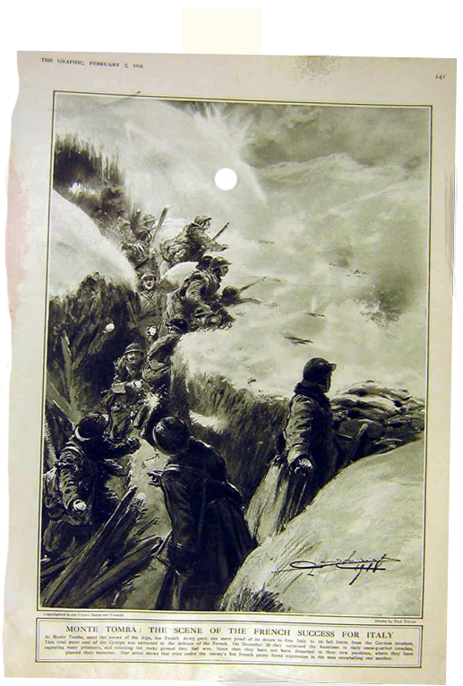 The Graphic 1918 World War One illustration